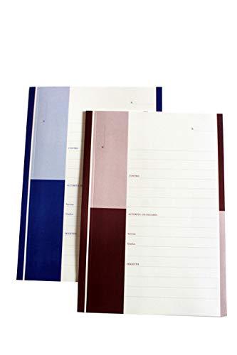 Cartellina 3 Lembi produzione avvocato rosso, conf. 20 pezzi