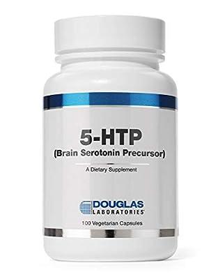 Douglas Laboratories - 5-HTP (50 mg.) - Brain Serotonin Precursor - 100 Capsules