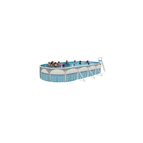TOI - Piscina Ovalada Mosaico 550X366X120