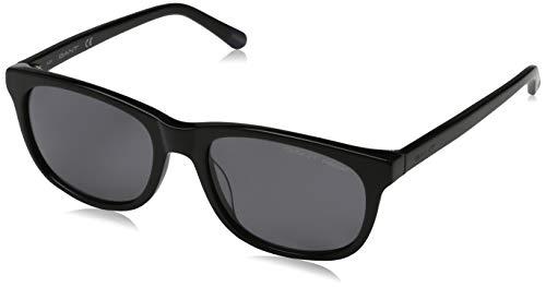 Gant heren Sonnenbrille GA7085 5401D zonnebril, zwart (Schwarz), 54