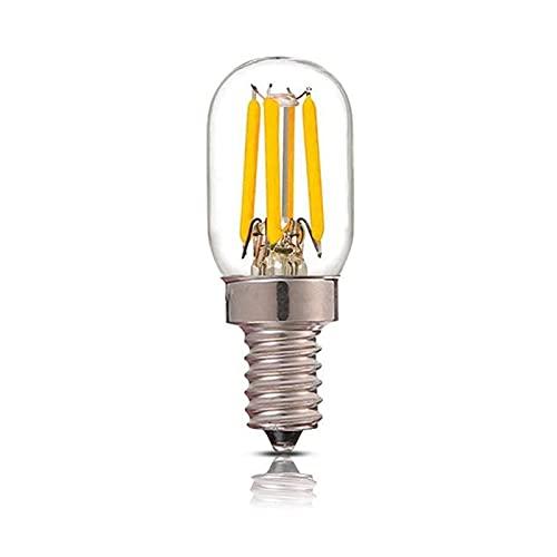 GoRIKI Bombillas LED para nevera, 4 W, 220 V, blanco cálido 3000 K, blanco frío 5700 K, E12, base T20, ahorro de energía, para lámparas de mesa, lámparas de techo, lámparas de pared
