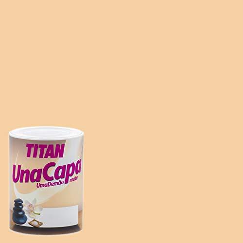 Pintura Mate Titan Una Capa - 750 mL, Ocre Suave
