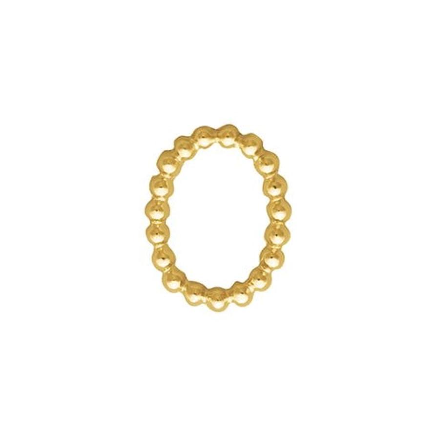 抽出米ドルどれかプリティーネイル ネイルアートパーツ ブリオンオーバルSS ゴールド  15個