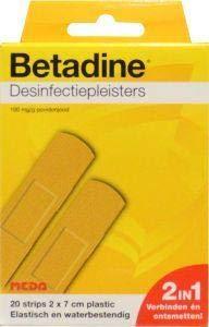 Betadine Desinfecterende Pleisters, 20 Stuk