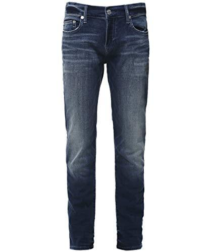 True Religion Rocco Jeans Slim, Baseline Foum, W40 / L32 Uomo