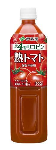 伊藤園 熟トマト 900g ×12本