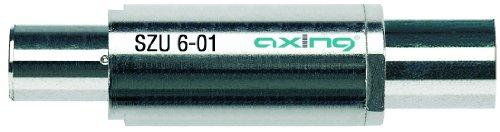 Axing SZU 6-01 Überspannungsschutz für Kabel und SAT (IEC-Anschluss)