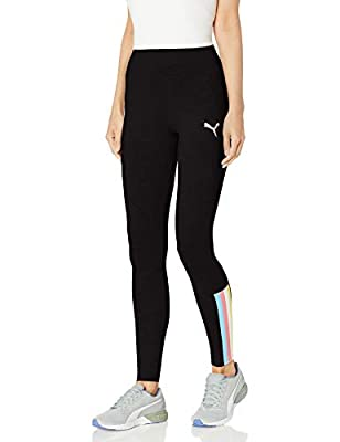 PUMA Women's Celebration Leggings, Cotton Black, S