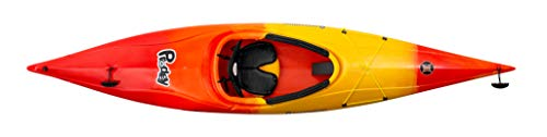 Perception Prodigy XS Sit-Inside Kayak for Kids and Petite Paddlers - Sunset