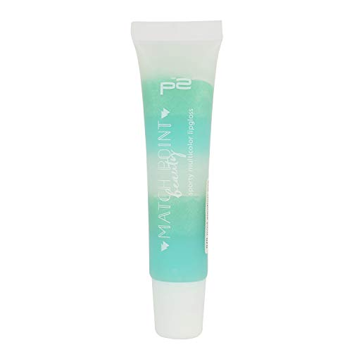 p2 cosmetics Make-up Lipgloss Match Point Beauty - stripe lip gloss 020