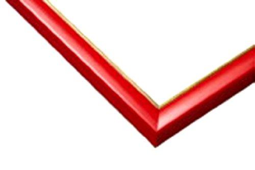 木製パズルフレーム ウッディーパネルエクセレント ゴールドライン シャインレッド (18.2x51.5cm)