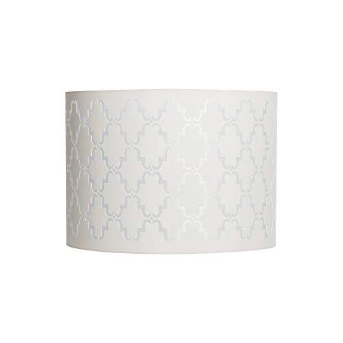 Quatrefoil Laser Cut Pattern Medium Lamp Shade 14