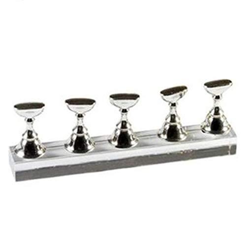 Bodhi2000 - Soporte magnético para decoración de uñas (acrílico), diseño de tablero de ajedrez