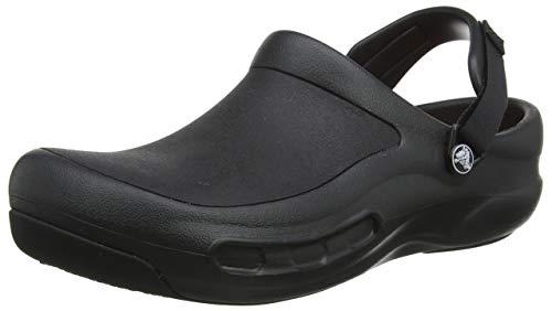 Crocs Bistro Pro Clog, Unisex - Erwachsene Clogs, Schwarz (Black), 39/40 EU