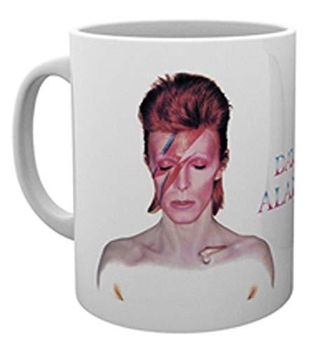 David Bowie Aladdin Sane Tasse weiß