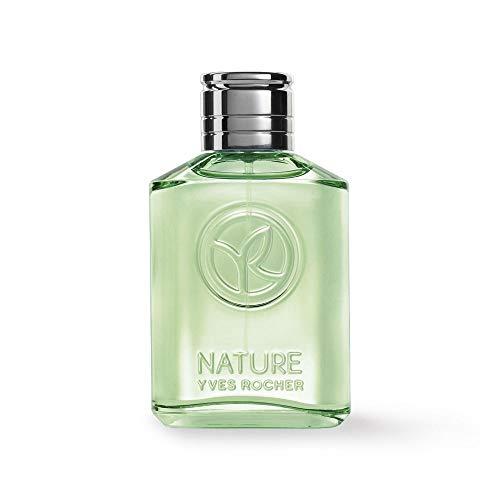 Yves Rocher NATURE Eau de Toilette Zedernholz & Limette, Parfüm für Herren, holzig & erfrischend, 1 x Zerstäuber 75 ml