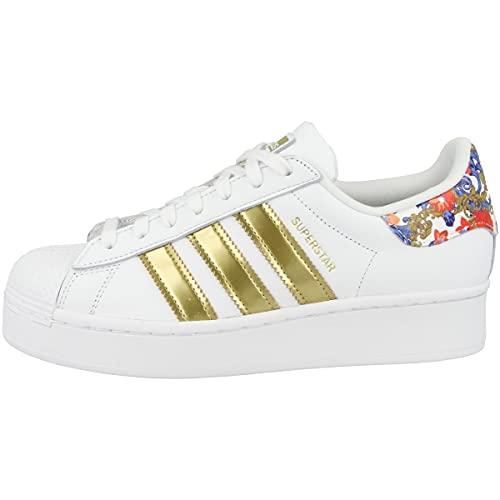 adidas Superstar Bold White Gold Flower FY3653