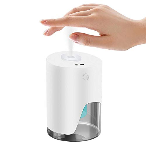100ML Soap Dispenser Hand Disinfection Machine Automatic Wall-mounted Sensor Mist Spray Hand Sanitizer Disinfection For Bathroom-White
