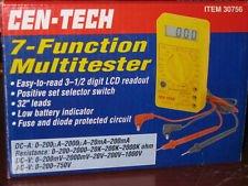 Cen-tech 7 Function Digital Multi-tester