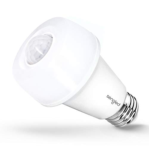 Sengled LED with Motion Sensor, Soft White 2700K, A19 60W Equivalent, Indoor Use, 1 Pack