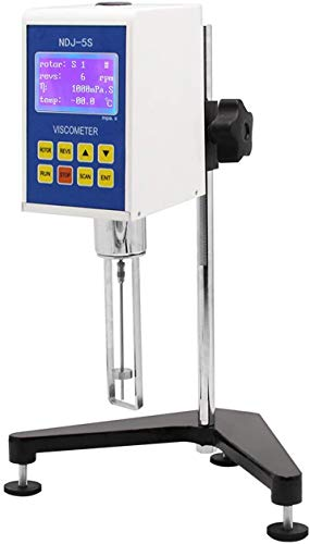 CGOLDENWALL NDJ-5S Digital Rotational Viscosity Meter Viscometer Rotary visometer 110V 1~100,000mPa.s Accuracy:+-3.0% (With 0# rotor)