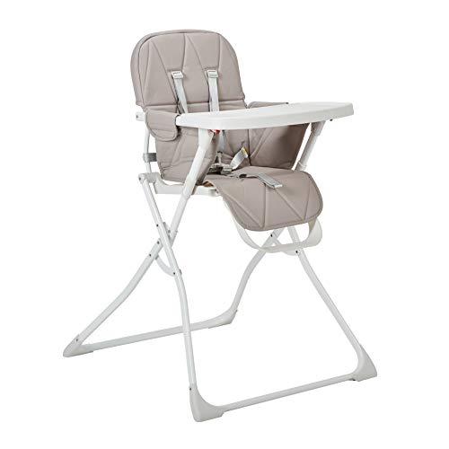 My Child MyChild Hideaway Compact Folding Highchair, Heather G
