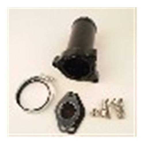 WHWEI 57mm Diesel EGR Delete Ventilrohr for vw 1,9 TDI 130 160 BHP vw egr Bypassventil Egr-02 (Color : 57mm Black)
