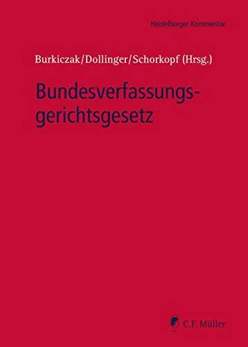 Bundesverfassungsgerichtsgesetz (Heidelberger Kommentar)
