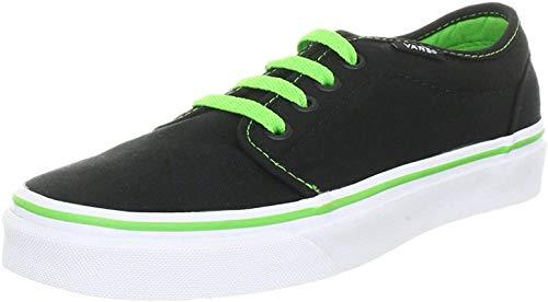 Vans Vans U 106 VULCANIZED BLACK/WHITE, Unisex-Erwachsene Sneakers, Schwarz (Black/White Y28), 35 EU (3 UK) (4 US)