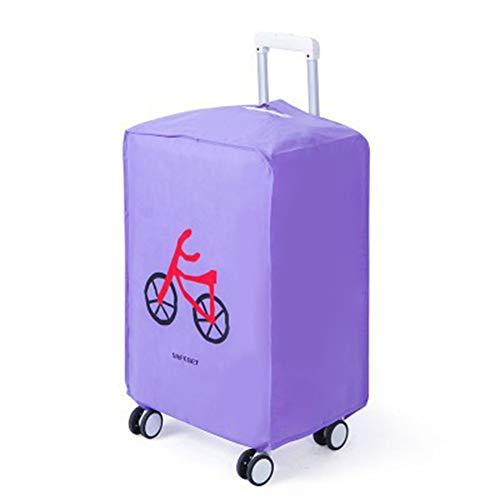 Da.Wa 1x Maleta no Tejida a Prueba de Agua Maleta Carretilla Cubierta 24 Pulgadas Bicicleta Púrpura