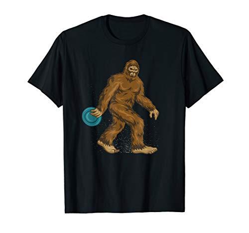 Disc Golf Gifts Bigfoot Disc Golf Men & Women Tee Shirts T-Shirt