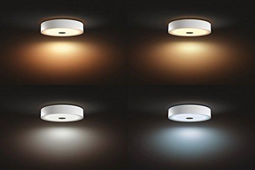Philips Hue LED Deckenleuchte Fair inkl. Dimmschalter, alle Weißschattierungen, steuerbar auch via App, weiß, 4034031P7 - 4