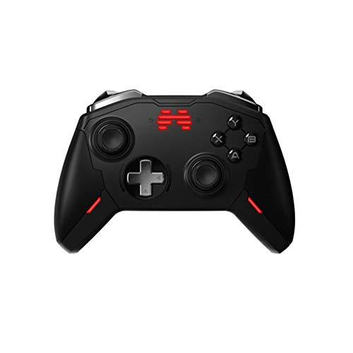 Quskto Gamepad Noir Manette sans Fil Jeu Peut être utilisé for Les Ordinateurs Portables Haute sensibilité et Plus Confortable (Color : Black, Size : 15.5x10.5x5.5cm)