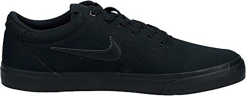 Nike Herren Sb Charge Solarsoft Skateboardschuhe, Schwarz (Black/Black-Black 001), 45.5 EU