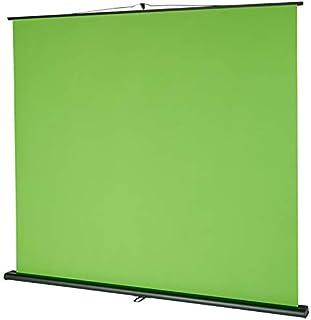 celexon Mobile Lite Chroma-nyckel grön skärm, 150 x 200 cm – professionell studioland/bakgrund för videoöverföring, webbka...