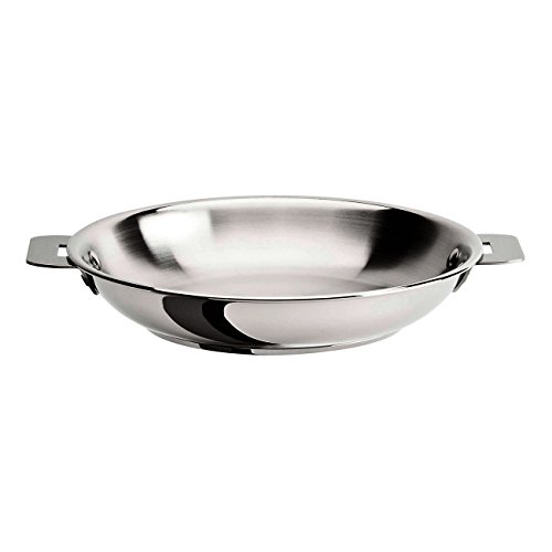 Cristel Multiply Stainless Steel 12.5 Inch Frying Pan by Cristel
