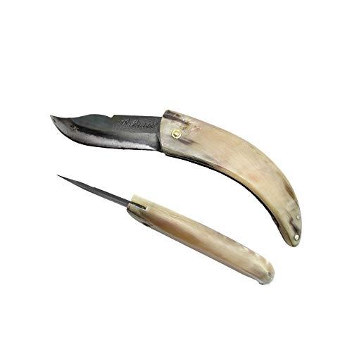 LAGUIOLE - Curnicciollo Korsisches Messer 18 cm mit Horngriff