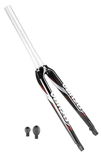 Venzo Road Bike Carbon Fork Disc Brake 700c Tapered