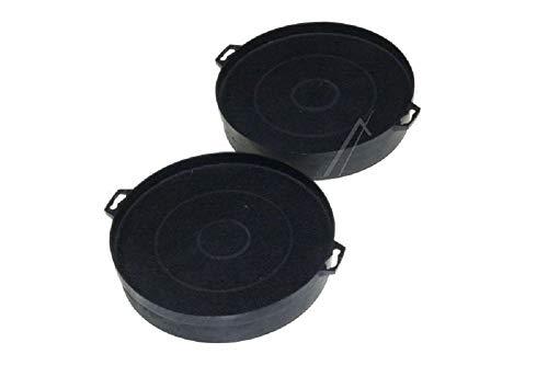 Vigier––Juego de 2filtros a carbón para campana extractora, Diámetro de 210mm FAC539–2B210