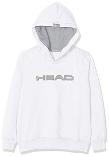 HEAD Swimming Team Hoody Jr. Jungen Jacke S Blanco (WH)