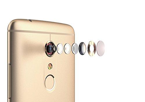 ZTE Axon 7 Smartphone (13,9 cm (5,5 Zoll) Display, 20 Megapixel Kamera, 64 GB Speicher) Gold