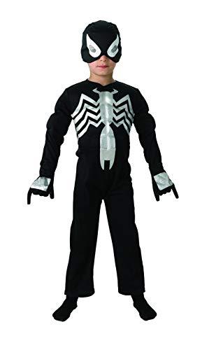 Rubies Costume Spiderman Officielle pour 3–4 Ans – Petit, Noir