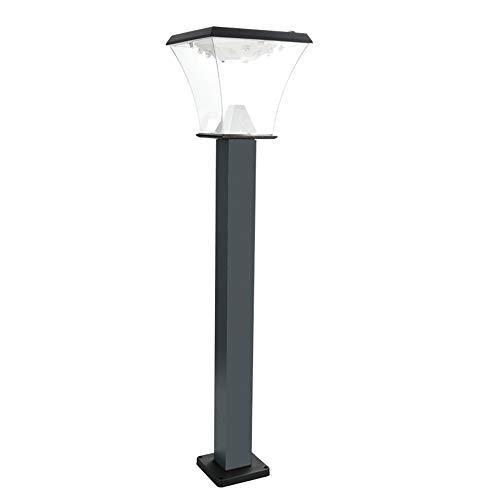 Lámpara De Césped De Inducción Solar, Lámpara De Inducción Al Aire Libre Impermeable Paisaje Exterior Lámpara De Césped LED Lámpara De Jardín Solar Lámpara para Iluminación Exterior,Floor Lamps