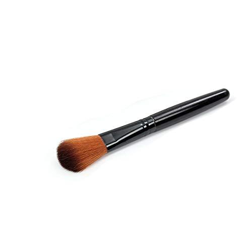healthwen Grote Poederborstel Professionele Poeder Make-up Borstel Enkele Borstel Gezicht Blush Schoonheid Make Up Cosmetische Tool Bruin