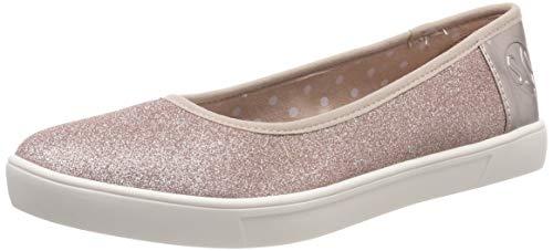 s.Oliver Damen 5-5-22102-22 594 Geschlossene Ballerinas, Pink (Rose Gold 594), 38 EU