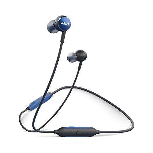 AKG Y100 Aricolari In-Ear Wireless, Connettività Multi-Point, Batteria a Lunga Durata e Ricarica Veloce, Blu
