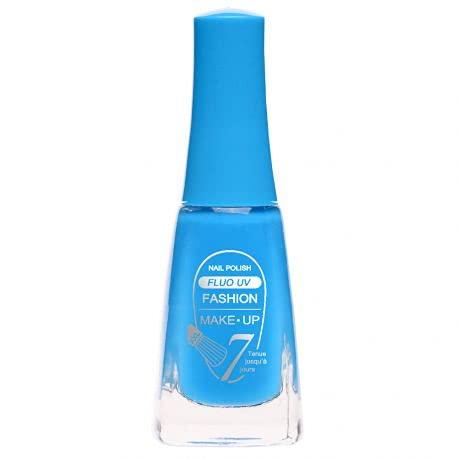 Fashion Make-Up FMU1400412 Vernis à Ongles Fluo N°412 Bleu 11 ml
