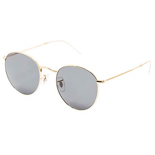 CHANCE - ABE gafas de sol clásicas unisex - Edición Limitada (Dorado, Verde G-15)