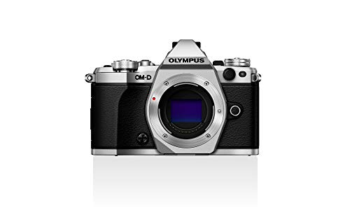 Olympus OM-D E-M5 Mark II (Silver, Body Only) with...