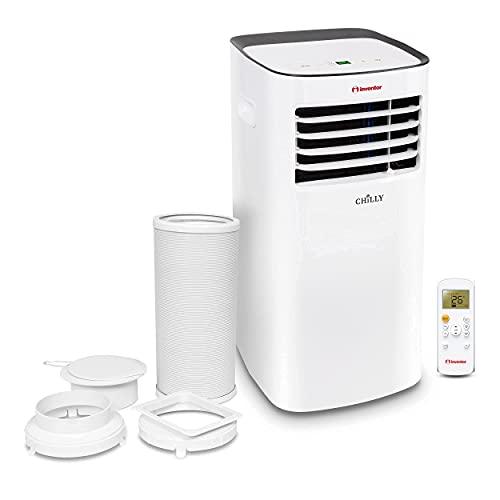 Inventor Chilly 9000 BTU, R290 Kältemittel, Mobiles Klimagerät, 3 in 1: Kühlung, Lüftung, Entfeuchtung, 2 Jahre Garantie